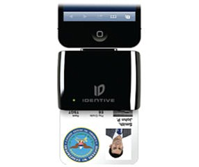 iAutheticate reader: has several functions, including secure logins, electronic payments