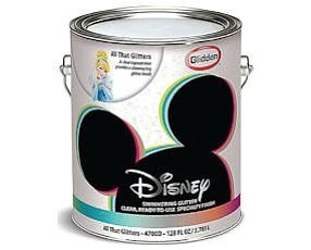 Sparkly: Disney paint.