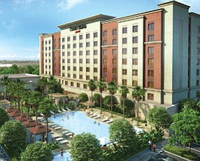 Rendering: eight-story Courtyard by Marriott now in works
