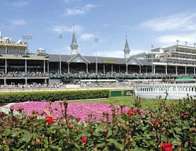 Churchill Downs: Mobilitie installed cellphone antennas there for Kentucky Derby