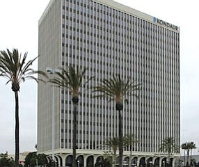 Central Orange County: had biggest drop in high-rise office vacancies