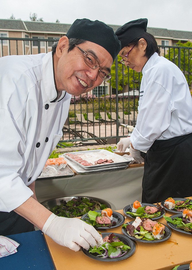 Chef Yoshi Nohara of Shimbashi Izakaya participated in the 17th Annual Meet the Chefs event hosted by Casa De Amparo. More than $130,000 was raised to benefit the organization.