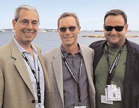 Cannes Cats: Hadity, COO Mark Prior and Chianese.