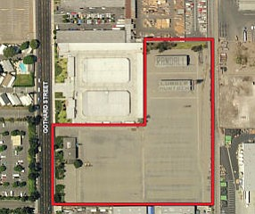 17332 Gothard: 6.5-acre site between Slater and Warner avenues former home of  Randall Lumber Co.