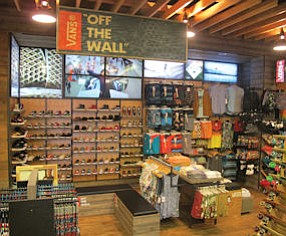 Vans at Jack's: brand has 60 feet of space at surf shop in Huntington Beach