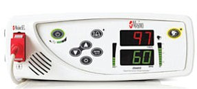 SET monitor: one of Masimo's pulse oximetry devices