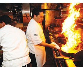 Westlake Village: Chef fires up the grill at local Public School outlet.