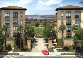 Under development: Meridian condos in Newport Beach to have view of golf course, ocean