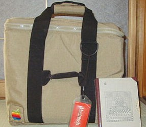 Early days: Targus' first bag for Apple came in 1980s