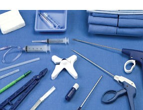 Products: interventional devices Vertos manufactures