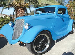 1934 Ford Coupe: Irvine-based Woodside Credit finances classic cars such as this one, which sold at the Barrett-Jackson auction in Palm Beach