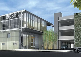 Rendering: Bobrick's $20 million headquarters on Hart Street.
