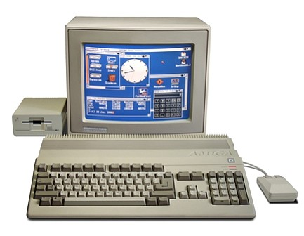 The Amiga PC from Commodore was a popular platform for video games in the 1980s and 1990s.