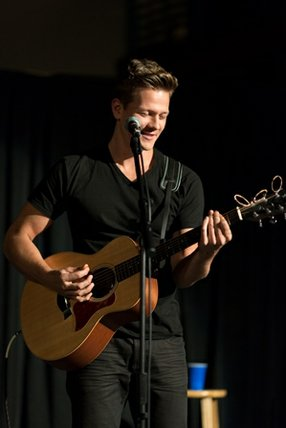 Musician Tyler Ward is part of the Fullscreen network.