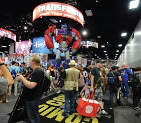 Comic-Con International annually draws around 130,000 people to the San Diego Convention Center, including attendees, exhibitors and global media representatives.