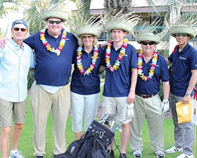 PAAMCO staff at company's golf tournament: hedge fund manager ranked among best midsize employers