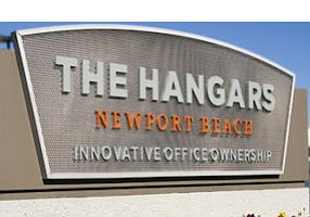 The Hangars Newport Beach: entire office complex totals about 272,000 square feet