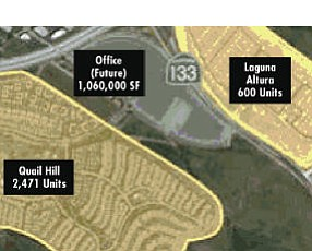 In the chips?: real estate industry sources point to area between Quail Hill, Laguna Altura