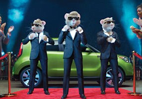 Hamsters in action: slimmed down, off to fast start with Soul ad