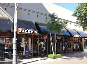Tilly's store at Outlets at Orange: retailer went public last year
