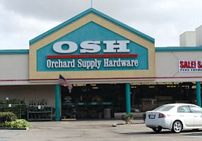 Fire Sale: OSH store being liquidated in Canoga Park.