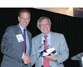 Richard Reisman, Erwin Chemerinsky: at last year's General Counsel Awards. This year's event takes place Sept. 17 at the Hyatt Regency Irvine.