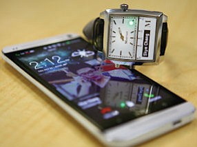 Martian watch: debuted at AT&T flagship in Chicago