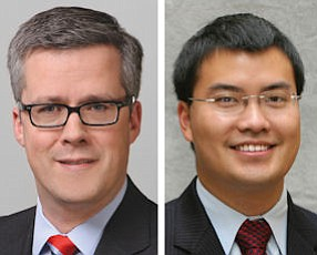 Mathias Schulze Steinen, partner, K&L Gates LLP (left);  Evan Ng, partner, Dorsey & Whitney LLP