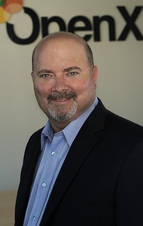 John Gentry has been appointment OpenX's first president. Photo courtesy of OpenX.