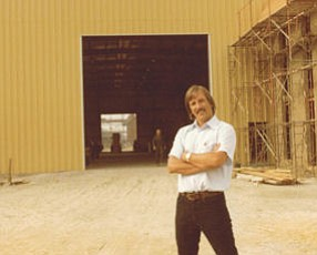 Jeffrey Carlton: pictured here in 1978 at Press Forge in Paramount