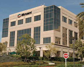 One Enterprise in Aliso Viejo: built for Fluor, now leased by chipmaker Microsemi