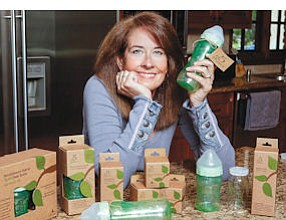 Well Fed: Christine Barlow in Thousand Oaks home with her 5 Phases products.