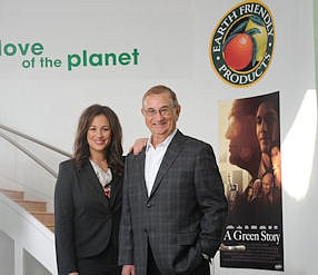 Vlahakis-Hanks and father, Van Vlahakis: she oversees OC operations for company he started in 1967