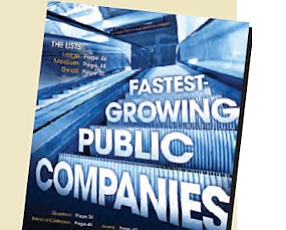 Format change: lists for small, medium, large companies in Special Report on page 37