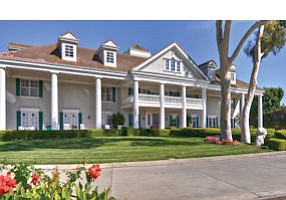 Compound: Newport Beach home zoned equestrian-residential