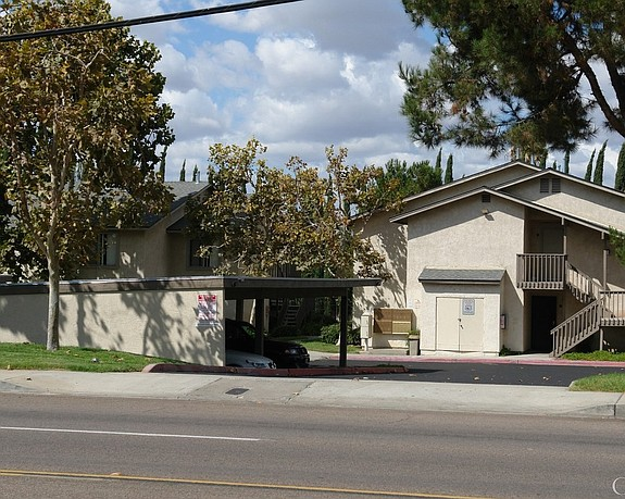 Trinity Apartments was one of two El Cajon communities recently acquired by GC Properties of San Diego.