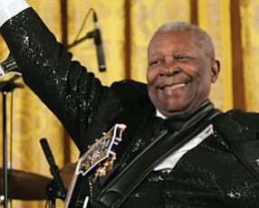 B.B. King: performs at Segerstrom Center for the Arts in Costa Mesa on Dec. 8