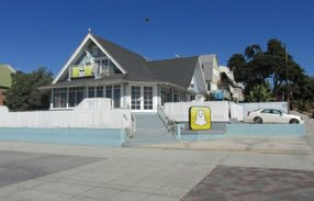 The former Snapchat office on Ocean Front Walk in Venice. Photo from LoopNet.