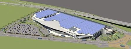 Rendering of Airport Rental Car Center