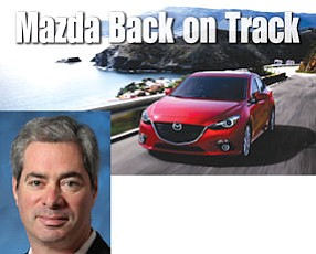 "Wager: ""eighteen months ago, people were questioning Mazda"""
