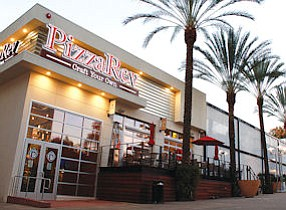 PizzaRev outlet at 175 E. Palm Ave. in Burbank.