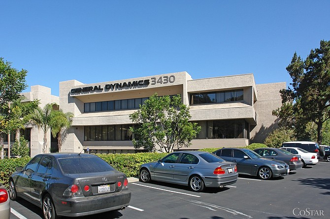 This building at 3430 Camino Del Rio N. in Mission Valley is among a 17-property portfolio bought by Portland, Ore.-based ScanlanKemberBard Cos.