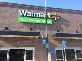 A Walmart Neighborhood Market in San Diego.
