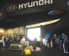 2013 show: Hyundai Motor America was among last year's exhibitors
