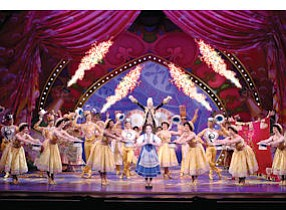 "Disney's ""Beauty and the Beast"": at Segerstrom Center for the Arts in Costa Mesa from Jan. 14 to 19"