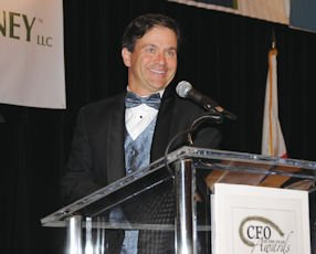 Murray Rudin: master of ceremonies at the Business Journal's CFO of the Year Awards in Irvine on Jan. 28
