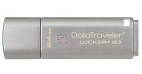 USB flash drive: new Kingston Technology product comes with encryption