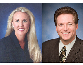 Karen Testman, chief financial officer; Rick Graniere, chief investment officer and corporate treasurer