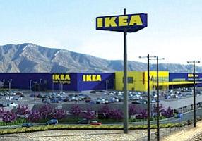 Burbank: Rendering of proposed Ikea at 805 S. San Fernando Blvd.