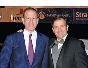 CFO event: Business Journal Publisher Richard Reisman with event MC, Murray Rudin